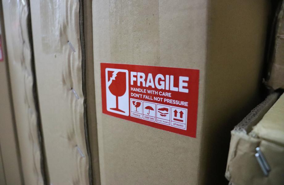 labeling - damaged freight